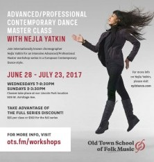 Advanced Contemporary Dance Master Class